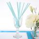 SŁOMKI papierowe Zygzaki Tiffany Blue 10szt