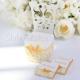 KRZESEŁKA wizytowniki Biała Róża 10szt KONIEC SERII