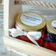 MIODY dla Rodziców w drewnianym nosidle Kropeczki