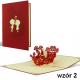 PODZIĘKOWANIE dla Rodziców/Świadków z efektem 3D 5wzorów!