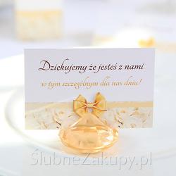 BILECIKI podziękowanie dla gości Biała Róża 20szt KONIEC SERII