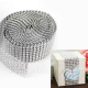 TAŚMA dekoracyjna srebrne/złote diamenty 3cmx2,3m