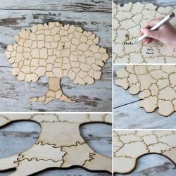 KSIĘGA GOŚCI Magiczne Drzewo układanka PUZZLE 45x60cm