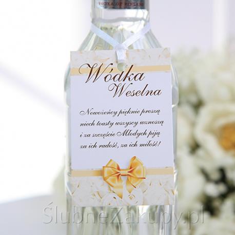 ZAWIESZKI na wódkę Biała Róża 20szt KONIEC SERII