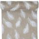 BIEŻNIK Białe Piórka 28cmx3m BRĄZOWY