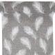 BIEŻNIK Białe Piórka 28cmx3m SZARY