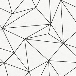 SERWETKI flizelinowe Airlaid Geometric 50szt