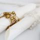 GIRLANDA perełkowa do dekoracji serwetek