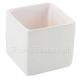 POJEMNIK ceramiczny Kostka Biała 10cm