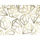 KONFETTI złote kryształy MIX wzorów