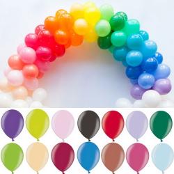 BALONIKI mini kolory do wyboru 12cm 100szt