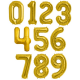 BALON foliowy Złoty ROCZNICA ŚLUBU