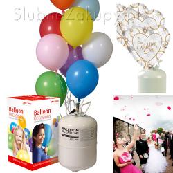 HEL do balonów - zestaw z 30 balonami
