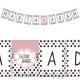 LITERA do baneru personalizowanego Sweets