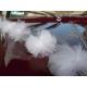 GIRLANDY tiulowe Białe Pompony