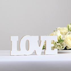 NAPIS dekoracyjny LOVE 10x25cm KONIEC SERII