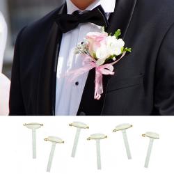 PRZYPINKA do wykonania ślubnej butonierki