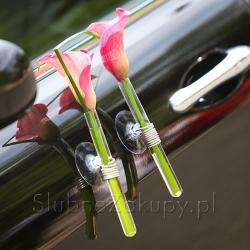 Przyssawka do samochodu na kwiaty/wianki 6cm