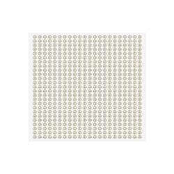 PEREŁKI aplikacje z klejem 0,4cm 646szt