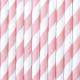 SŁOMKI papierowe w paski Słodki bufet 10szt