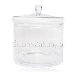 POJEMNIK szklany Klasyczny Pękaty 21cm