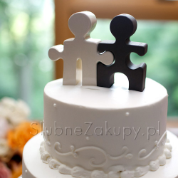 FIGURKA kontur na tort Puzzle