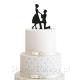 KONTUR dekoracyjny na tort U Jej Stóp