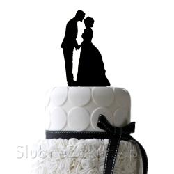 KONTUR dekoracyjny na tort Luxury Wedding
