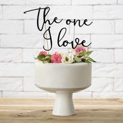 KONTUR dekoracyjny na tort The One I Love
