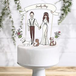 KONTUR dekoracyjny na tort Lovely Day