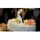 FIGURKA na tort Panna Młoda Niesiona 20