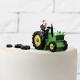 FIGURKA na tort Para Młoda na Traktorze 34