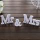 NAPIS dekoracyjny Mr&Mrs Zestaw 10x50cm