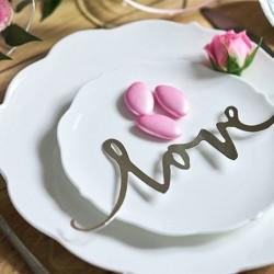 NAPIS dekoracyjny Love 6 szt.
