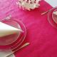 BIEŻNIK flizelinowy różowy z tłoczeniem 50cmx4,5m