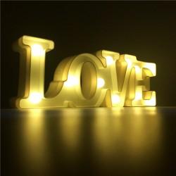 NAPIS podświetlany LOVE 30 cm