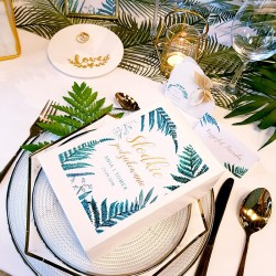 PUDEŁKA na ciasto z IMIONAMI Botanica 10szt