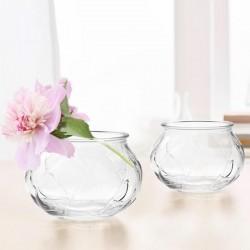 WAZONIK szklany DAISY 8cm
