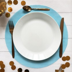 PODKŁADKI Sweet Blue pod ciasto/talerze 34cm 10szt