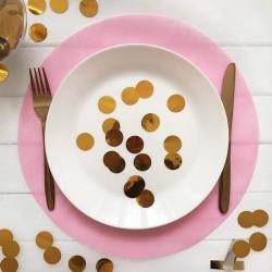 PODKŁADKI Sweet Pink pod ciasto/talerze 34cm 10szt OSTATNIE OPAKOWANIE