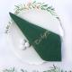 SERWETKI papierowe z napisem Dziękujemy Zielone 33x33cm 20szt