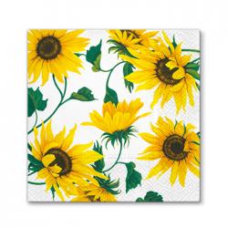 SERWETKI papierowe Słoneczniki 33x33cm 20szt