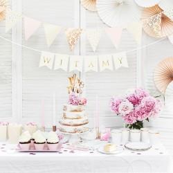 BANER dekoracyjny Witamy Różowe Złoto
