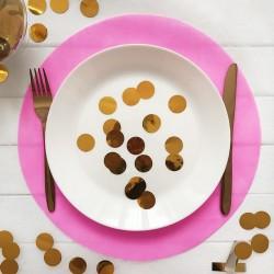 PODKŁADKI Sweet Fuchsia pod ciasto/talerze 34cm 10szt