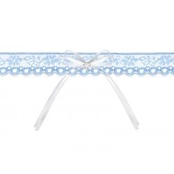 PODWIĄZKA ślubna kol. Coś niebieskiego 16