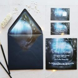 ZAPROSZENIE ślubne personalizowane Magia Nocy Letniej