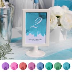 TABLICZKA na stolik z personalizacją Pastelowa Akwarela