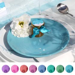 MIÓD personalizowany Kolekcja Pastelowa Akwarela (+etykieta)