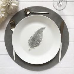 PODKŁADKI Sweet Grey pod ciasto/talerze 34cm 10szt