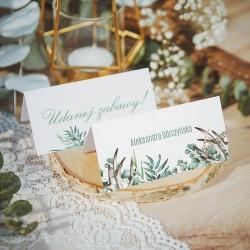 WIZYTÓWKA personalizowana Boho Wedding
